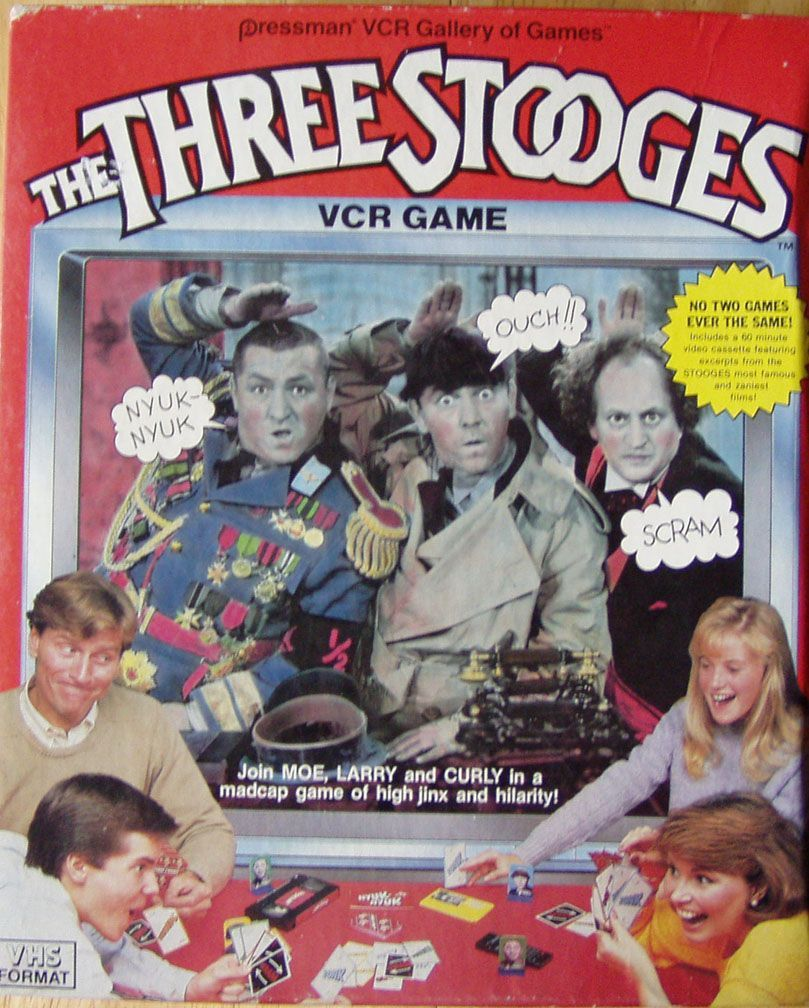 The Three Stooges VCR Game