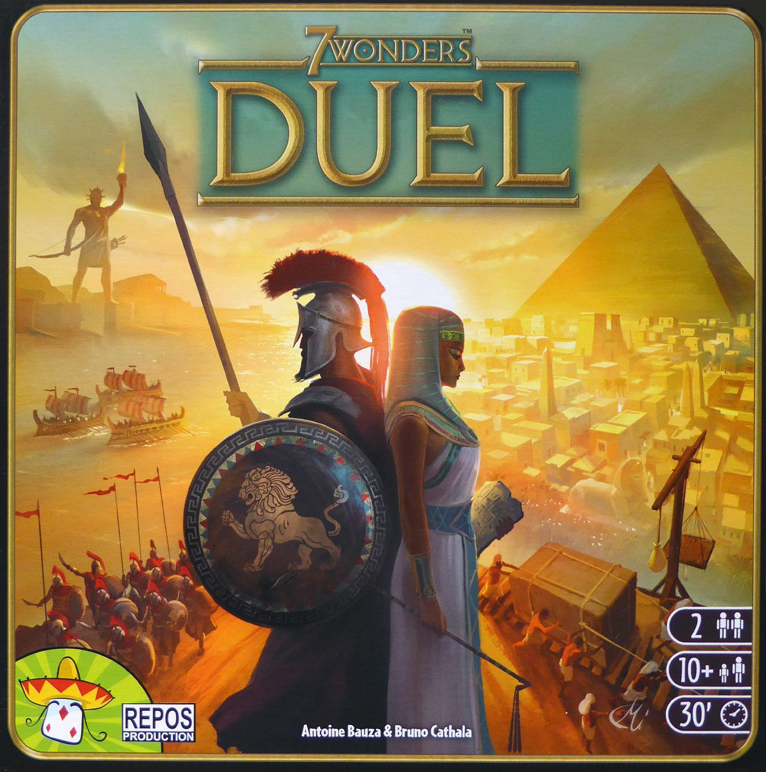 Main image for 7 Wonders Duel board game