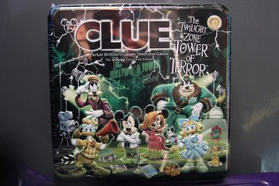 Clue:  The Twilight Zone – Tower of Terror