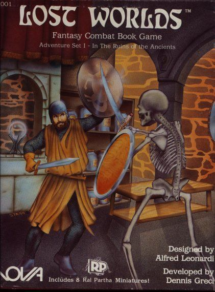 Lost Worlds Adventure Set I: In the Ruins of the Ancients