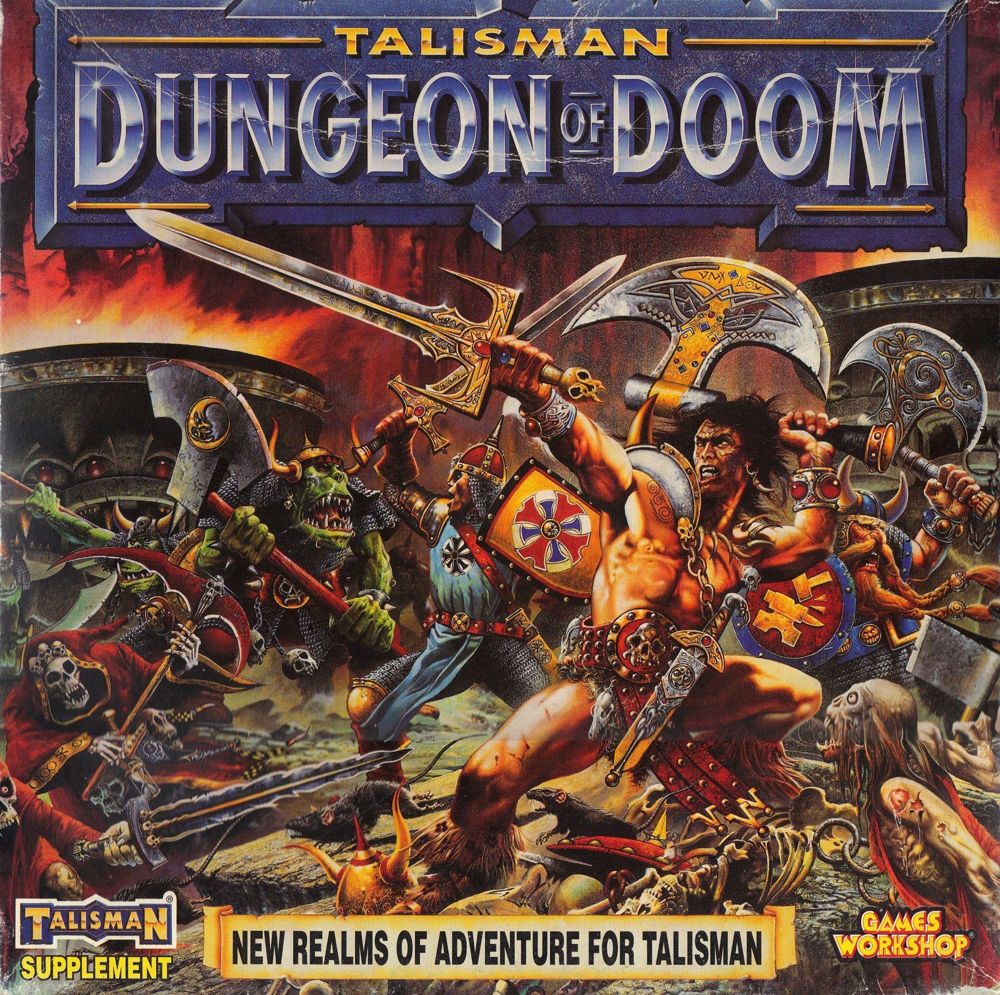 Talisman (third edition): Dungeon of Doom