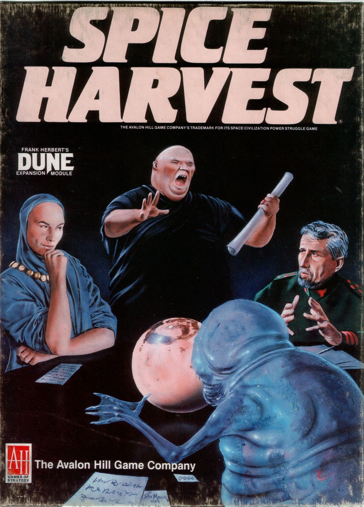 Dune: Spice Harvest