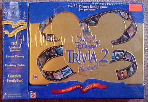 The Wonderful World of Disney Trivia 2: The Sequel