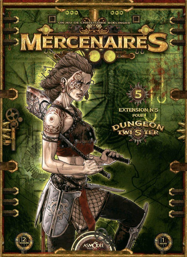 Dungeon Twister: Mercenaries