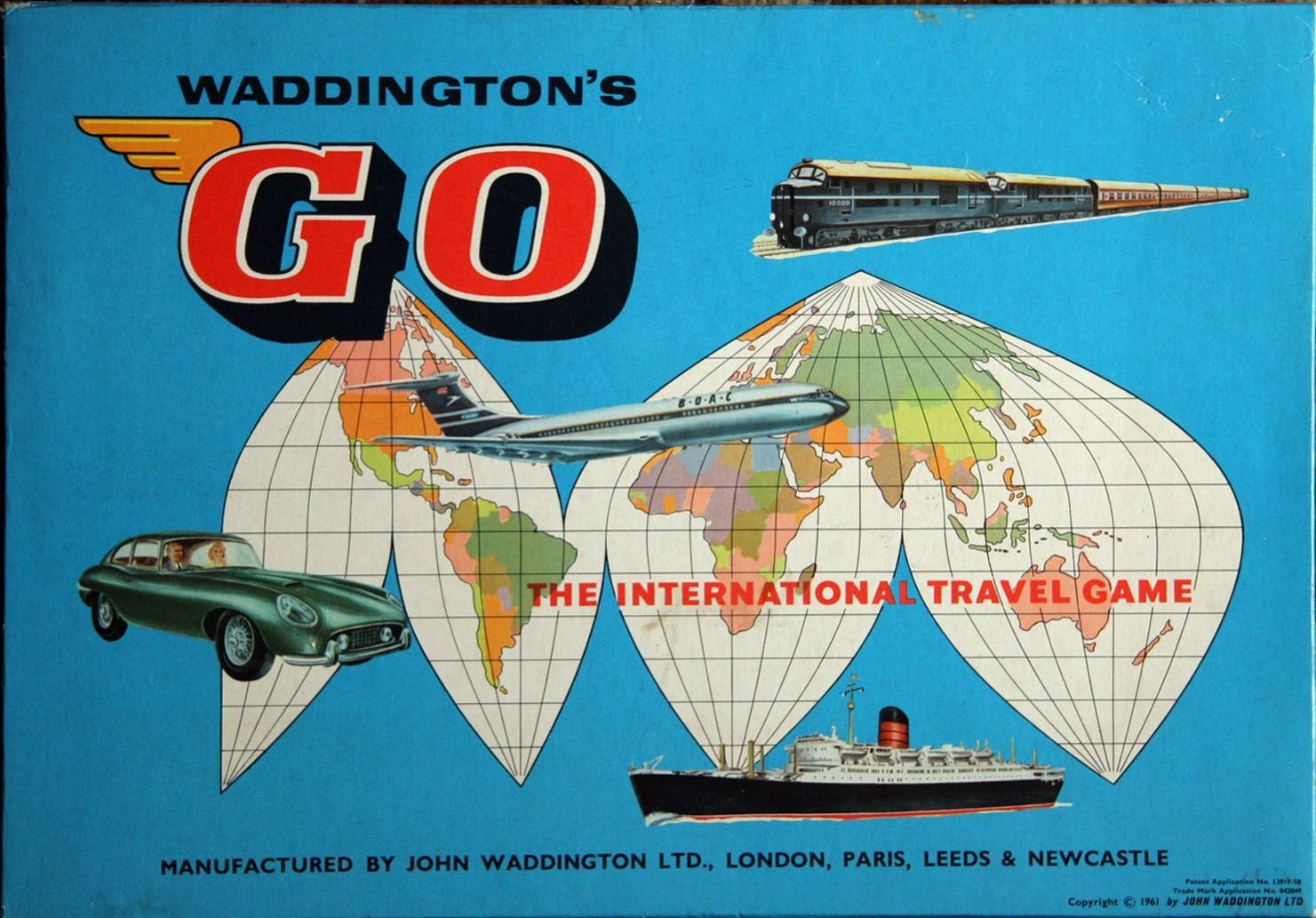 Go: The International Travel Game