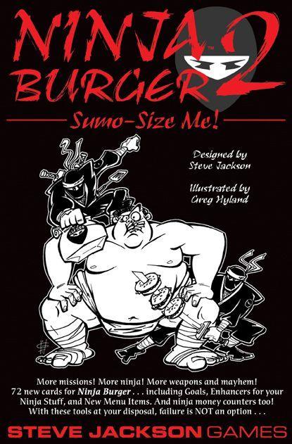 Ninja Burger 2: Sumo-Size Me!