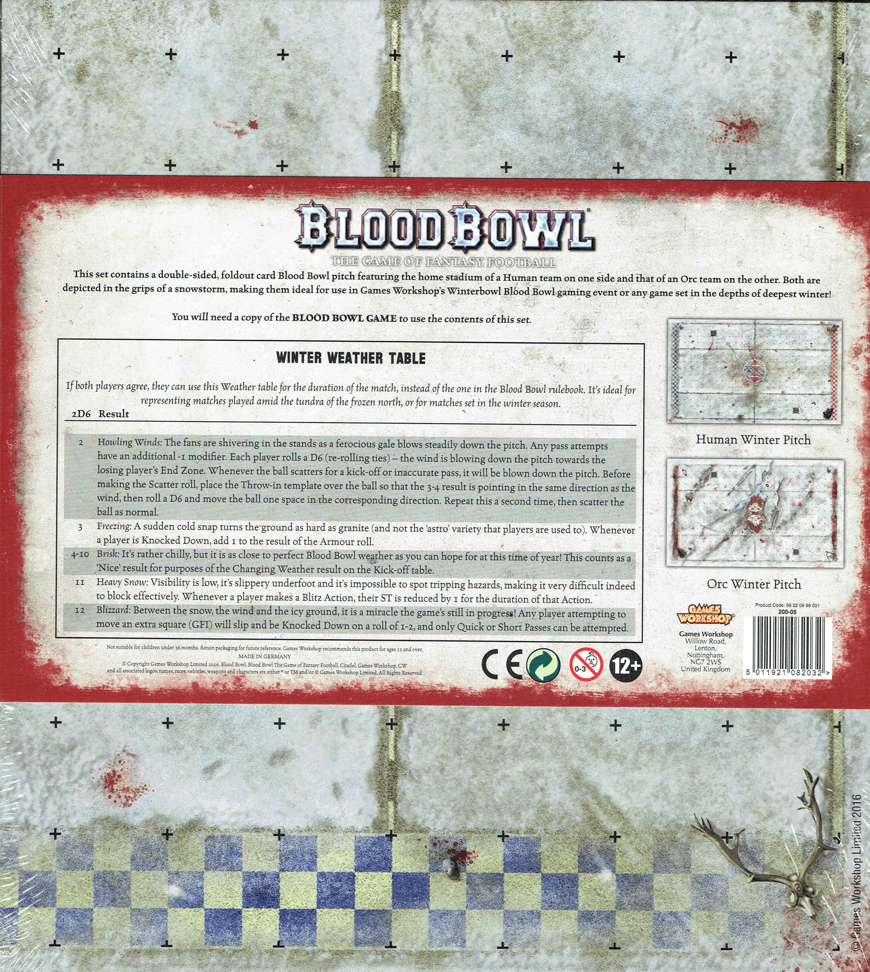 Blood Bowl (2016 edition): Blood on the Snow Pitch | Image