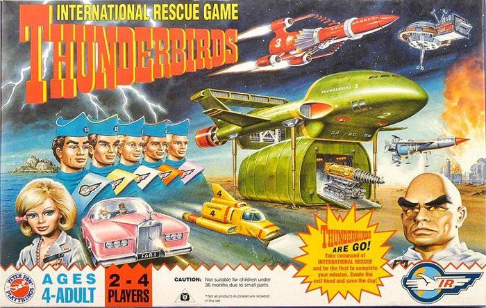 Thunderbirds International Rescue Game