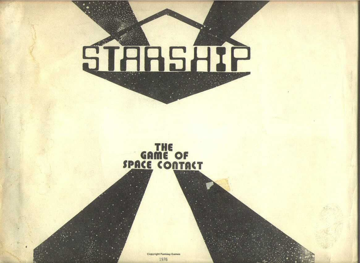 Starship: The Game of Space Contact