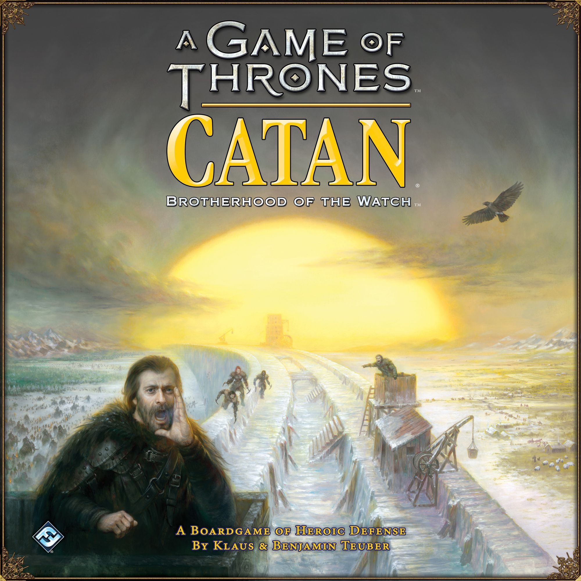 A Game of Thrones: Catan – Brotherhood of the Watch Cover