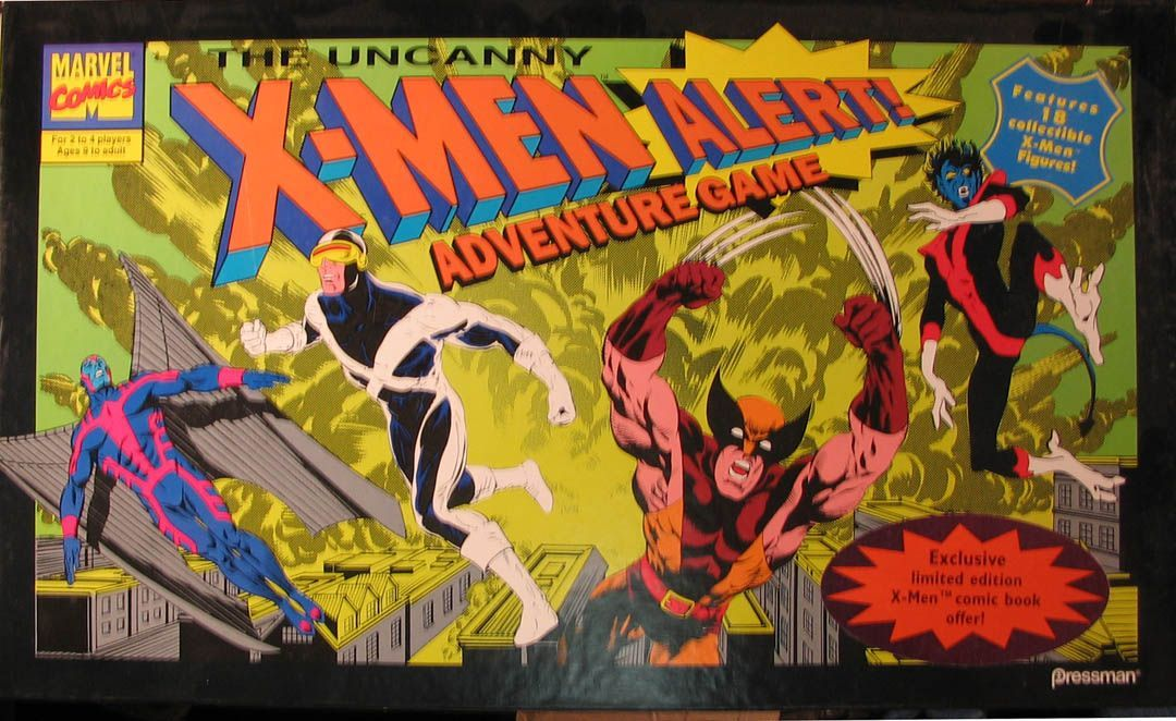 The Uncanny X-Men Alert Adventure Game