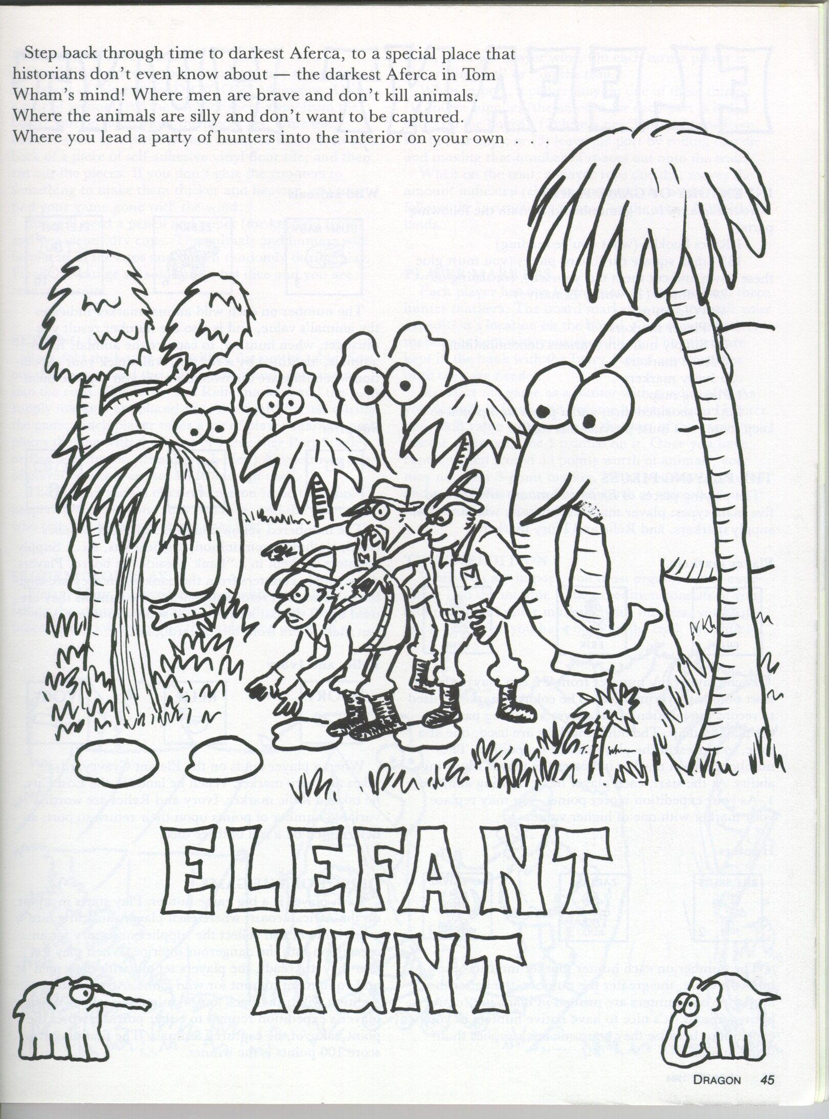 Elefant Hunt