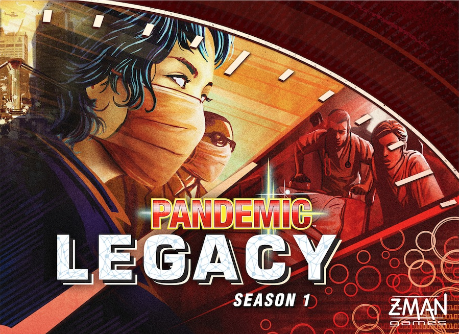 Pandemic Legacy: Season 1 Red Edition