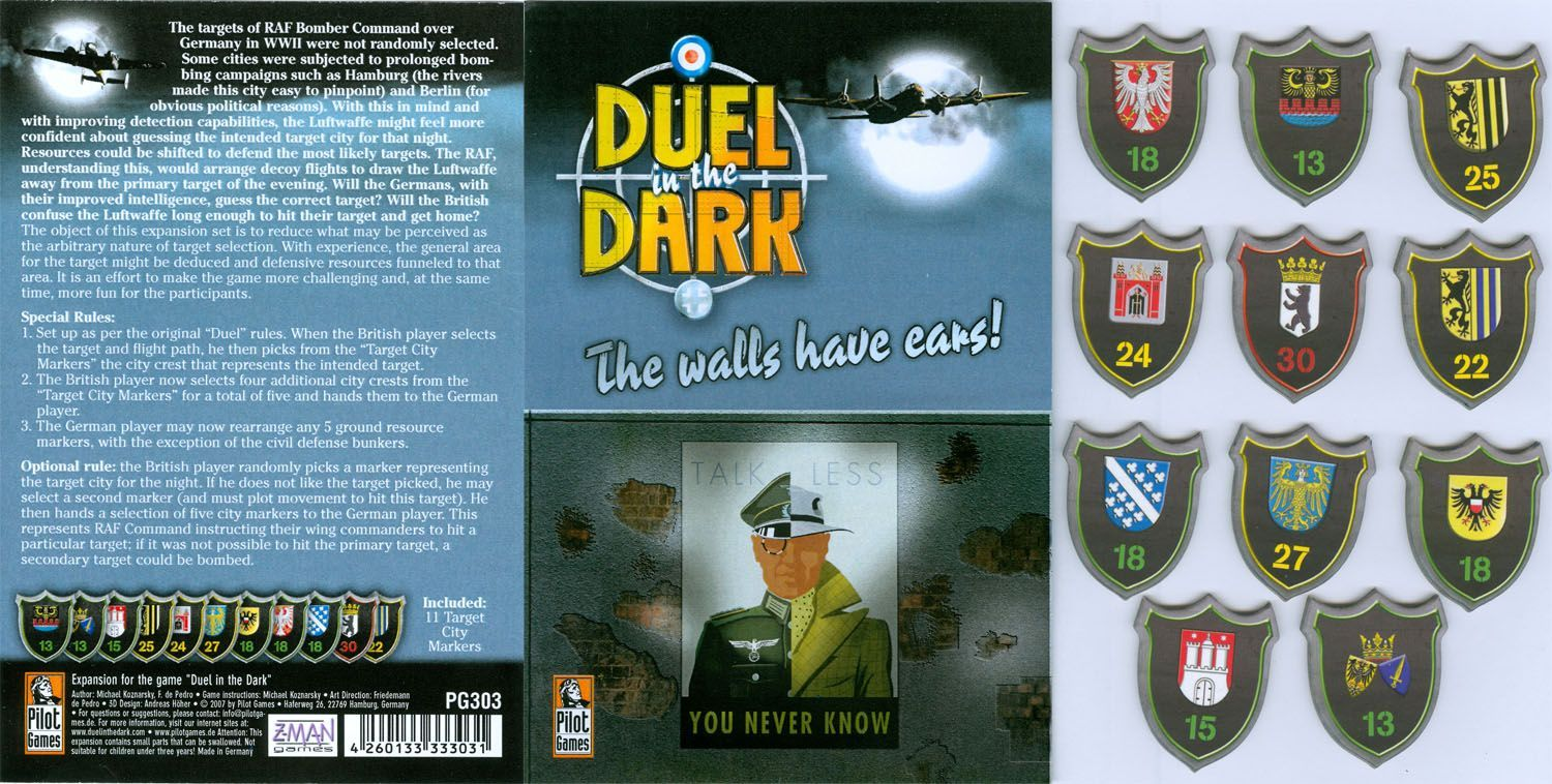 Duel in the Dark: The Walls Have Ears