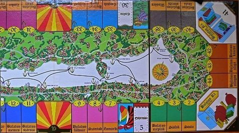 Board Game: Balaton rt.