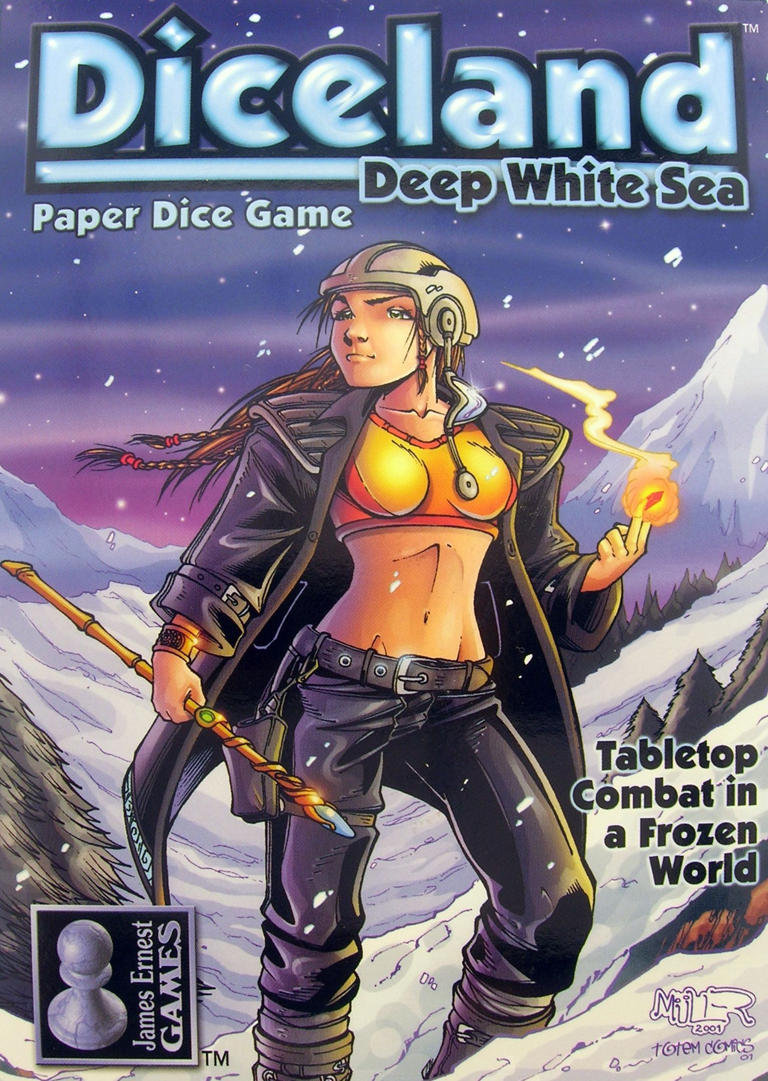 Diceland: Deep White Sea