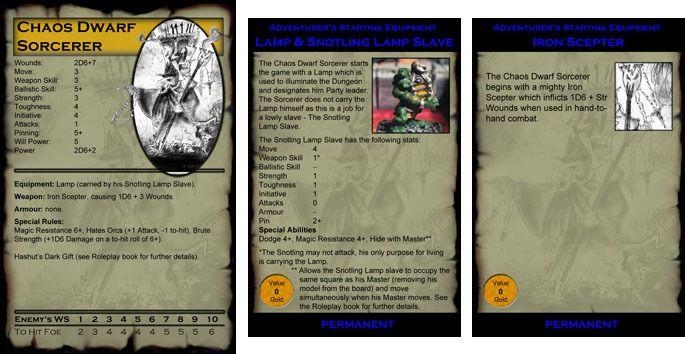 Warhammer Quest: Chaos Dwarf Playtest Report 3 (warning: image