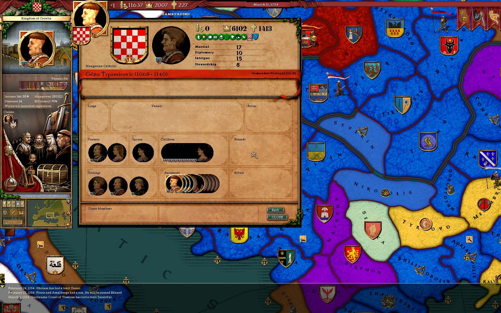 Love, Marriage, and Courtship in Crusader Kings II - A