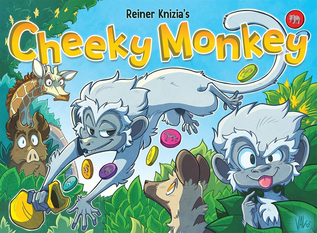 Cover Cheecky monkey