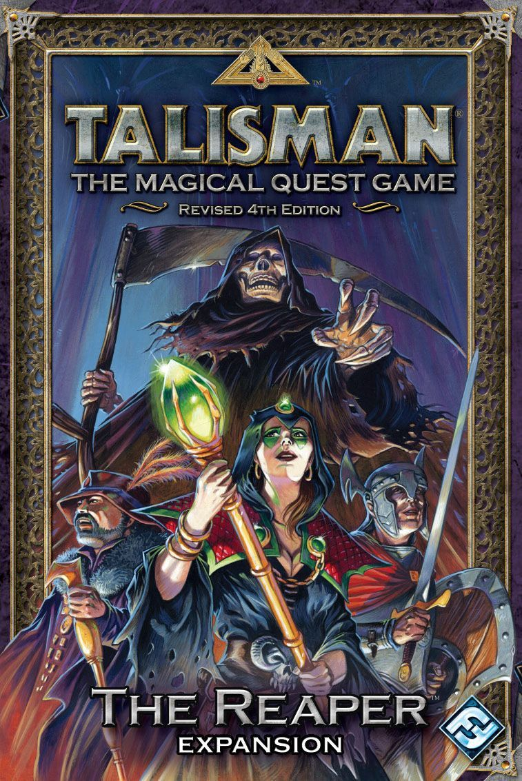 Talisman (Revised 4th Edition): The Reaper Expansion