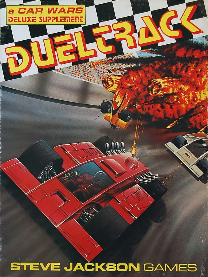 Dueltrack: A Car Wars Deluxe Supplement