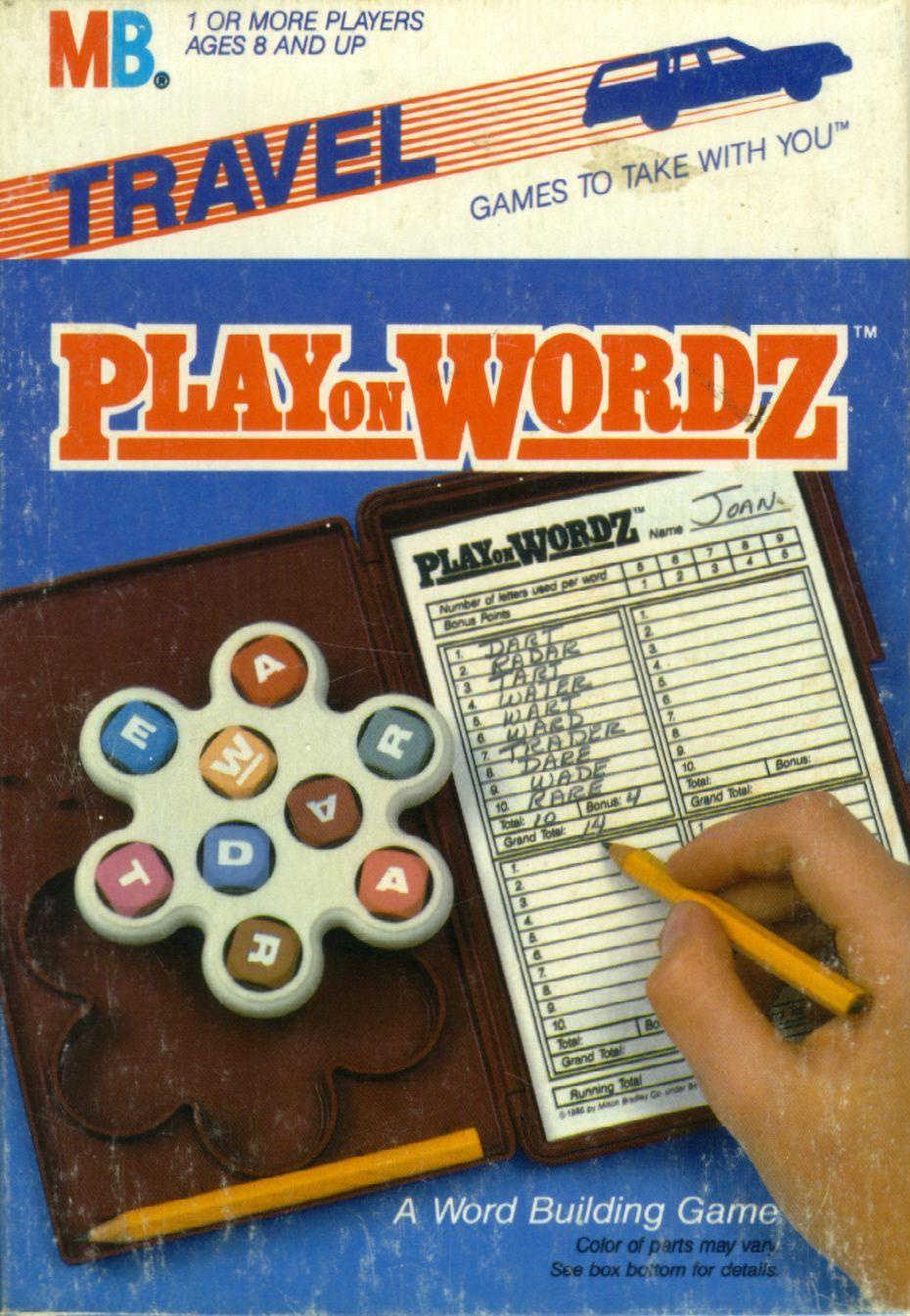 Play on Wordz
