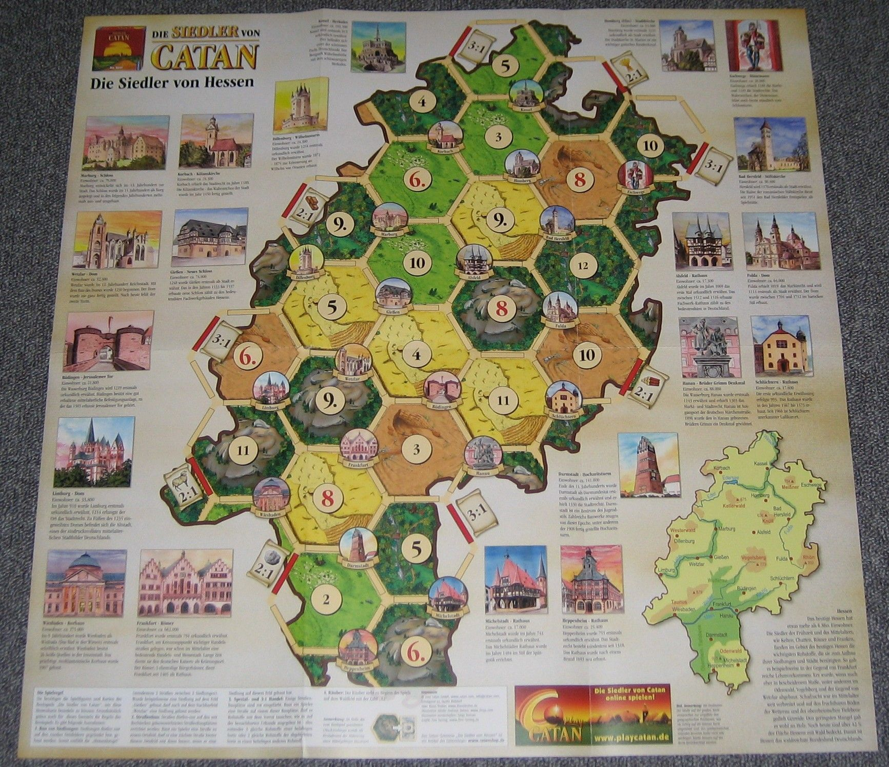 Catan Geographies: Settlers of Hesse