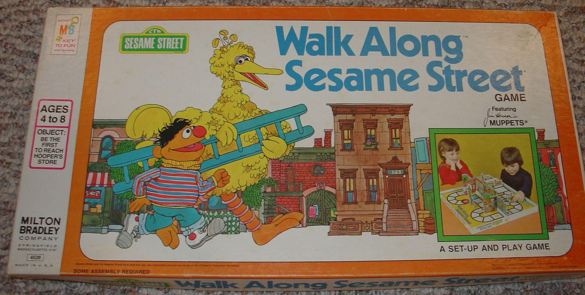 Walk Along Sesame Street