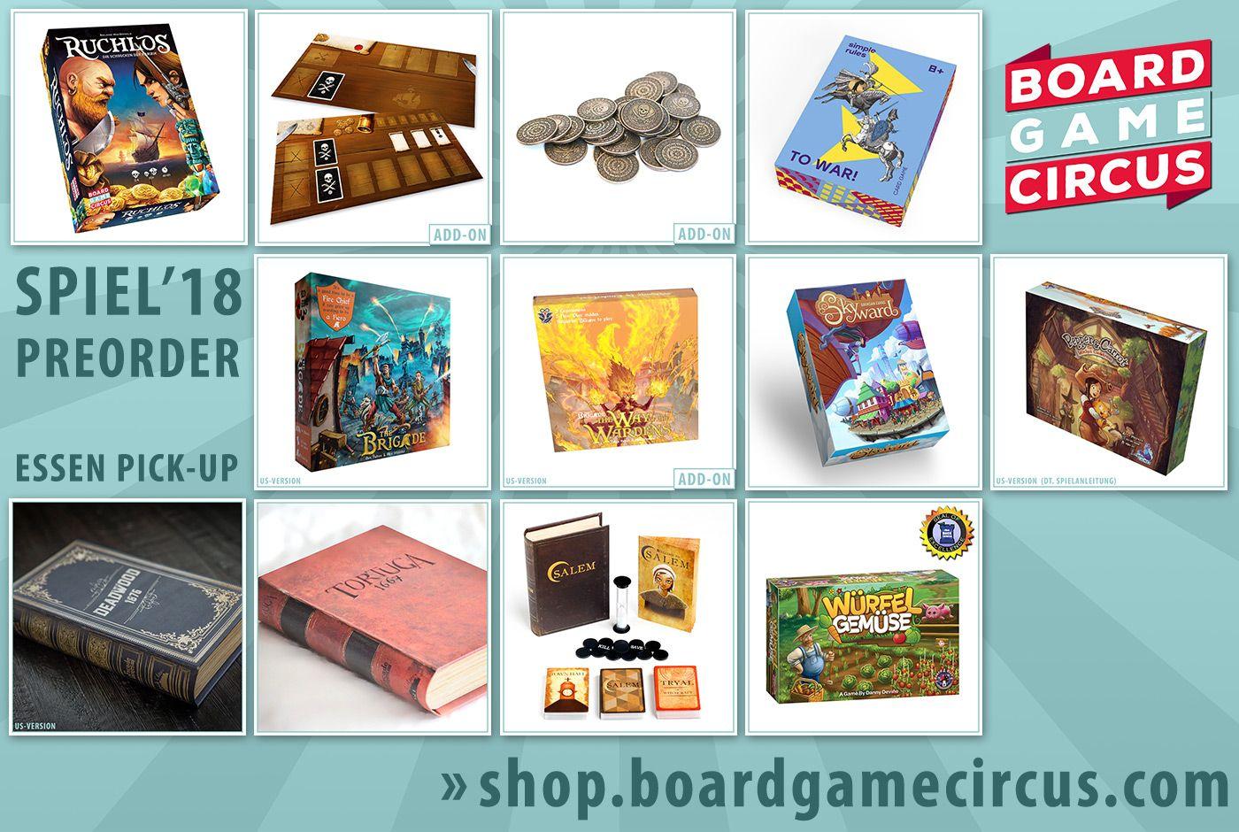 Board Game Circus SPIEL'18 (Essen) Preorder | BoardGameGeek