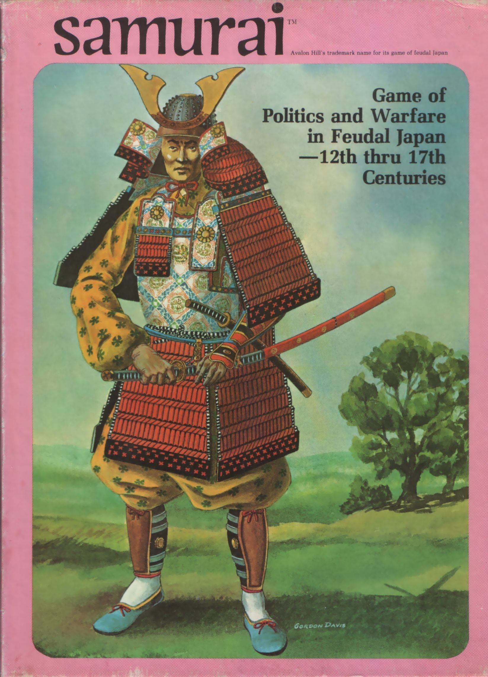 Samurai: Game of Politics and Warfare in Feudal Japan – 12th thru 17th Centuries