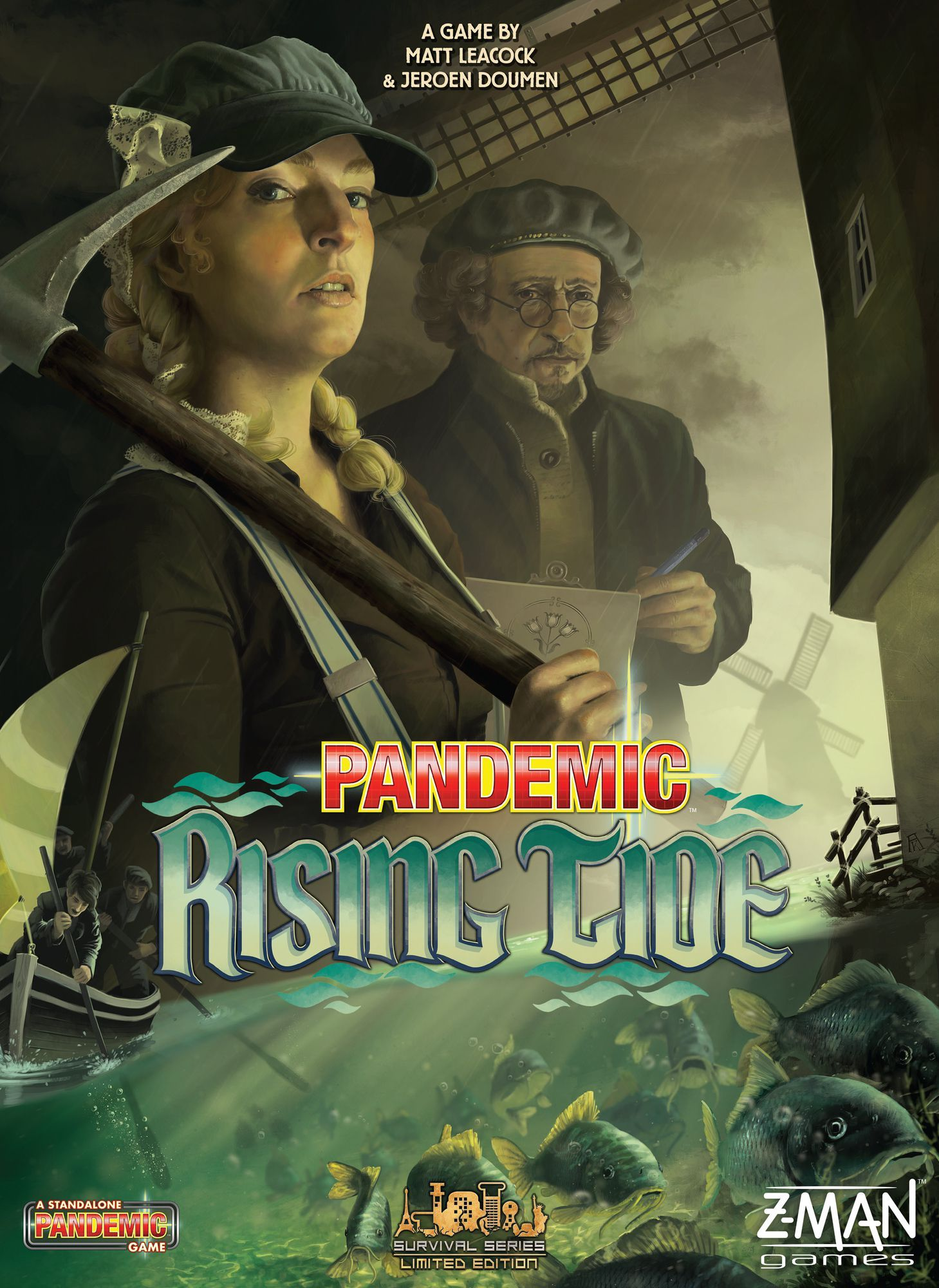Main image for Pandemic: Rising Tide