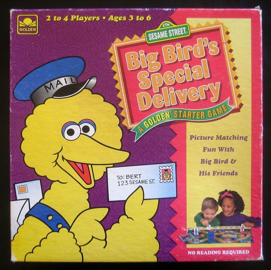 Big Bird's Special Delivery