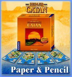 Die Siedler von Catan: Paper & Pencil