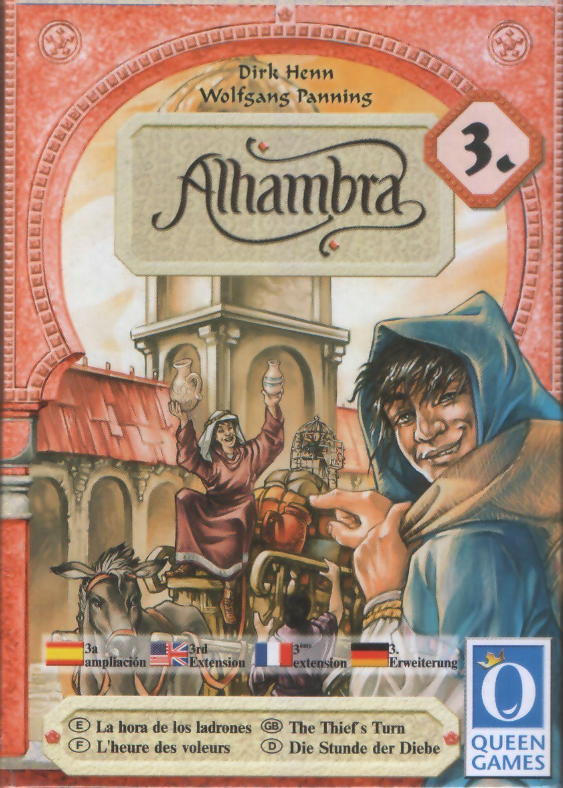 Alhambra: The Thief's Turn