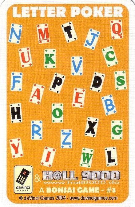 Letter Poker