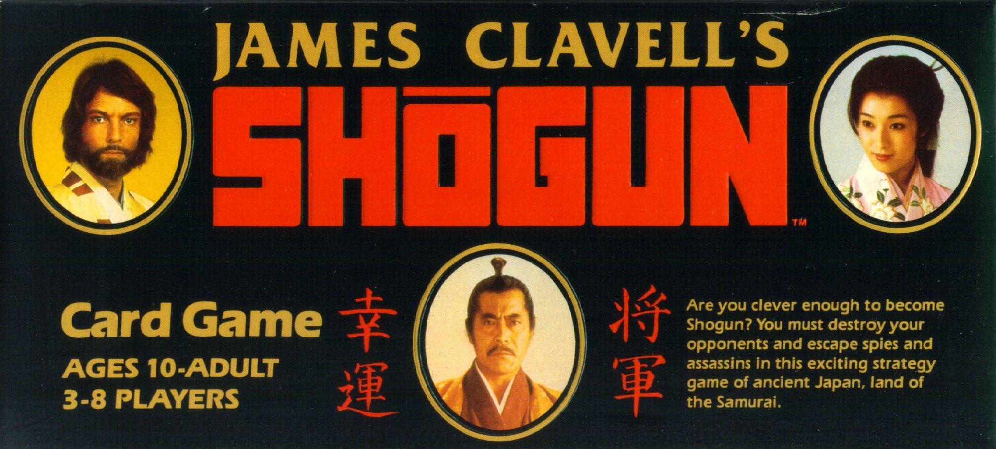 James Clavell's Shogun Card Game