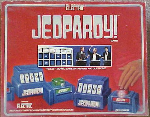 Electric Jeopardy Game