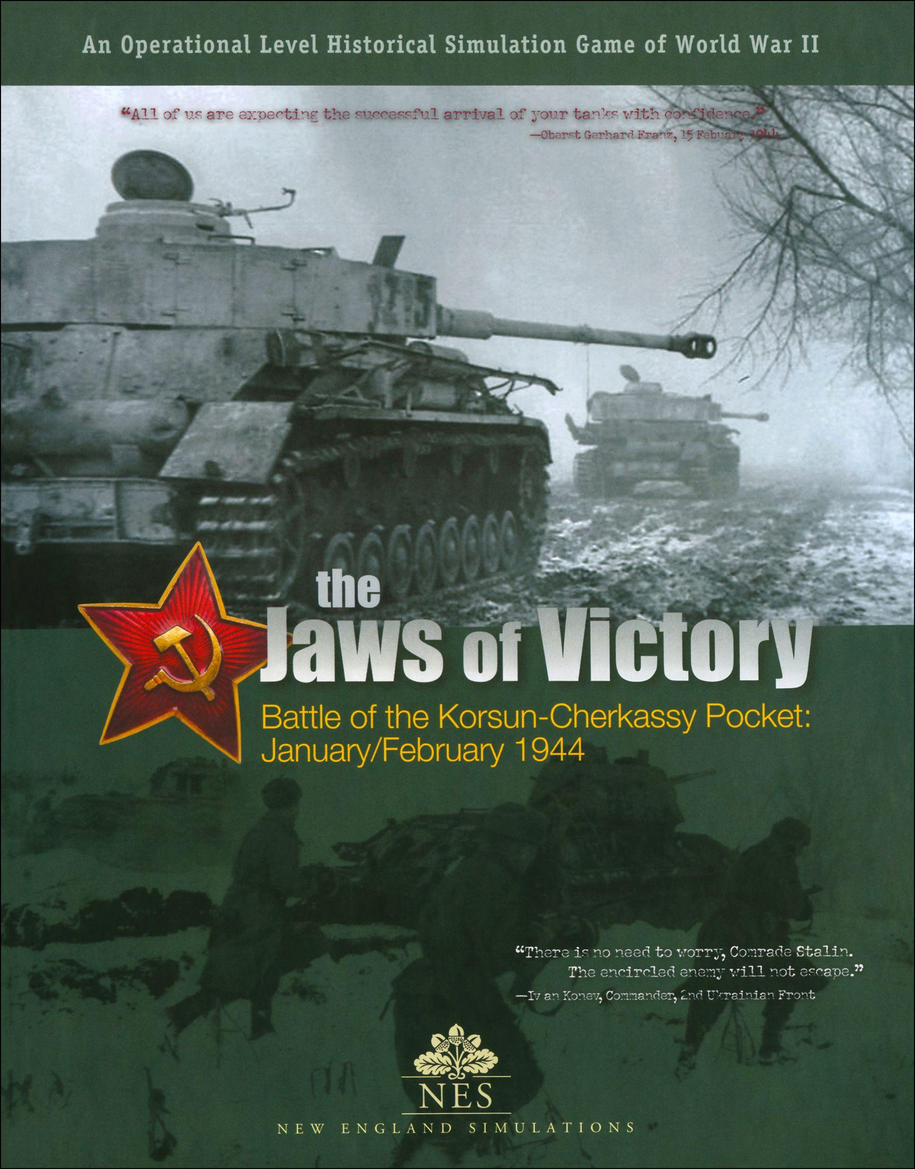 The Jaws of Victory: Battle of Korsun-Cherkassy Pocket – January/February 1944