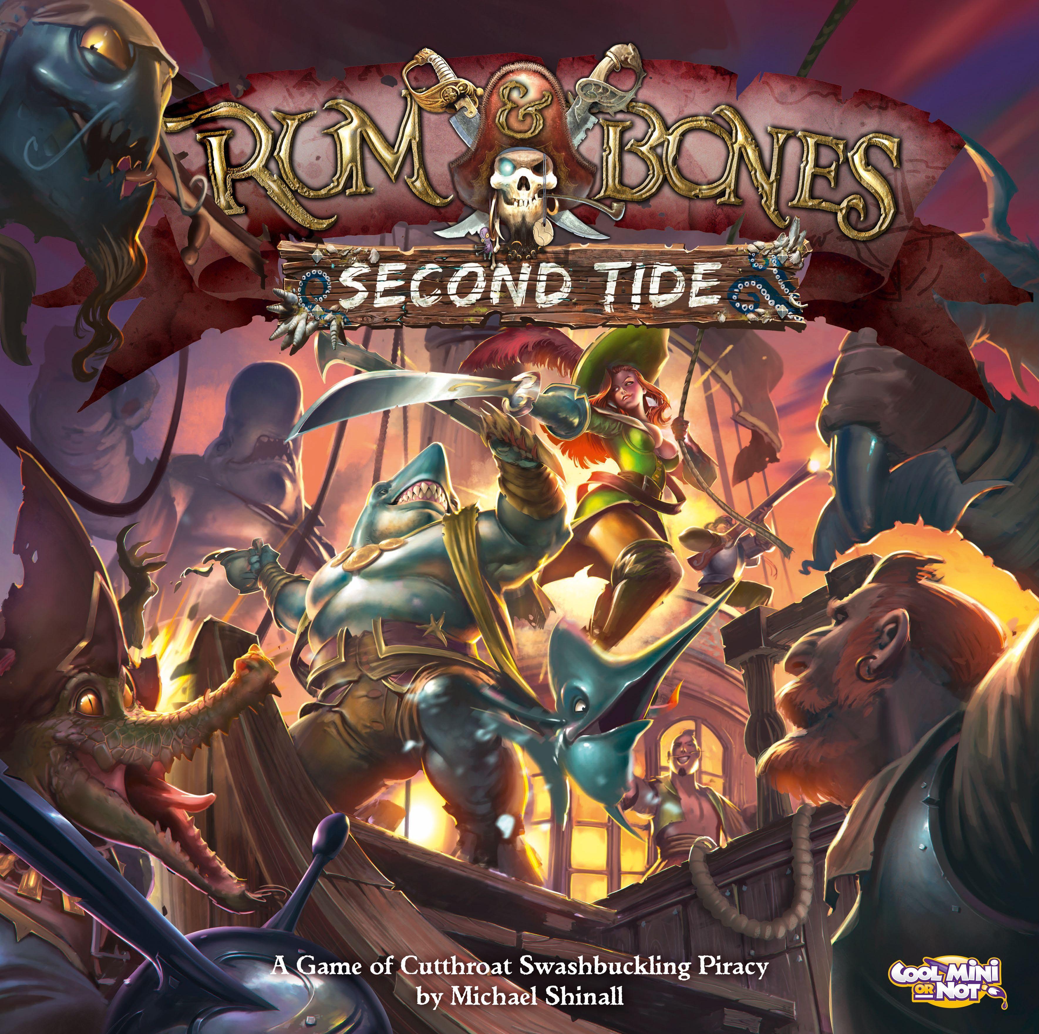 Rum & Bones: Second Tide