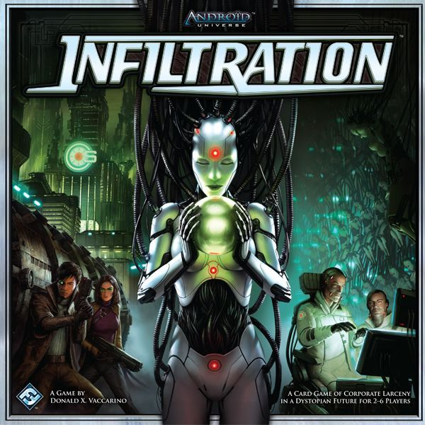 Main image for Android: Infiltration board game