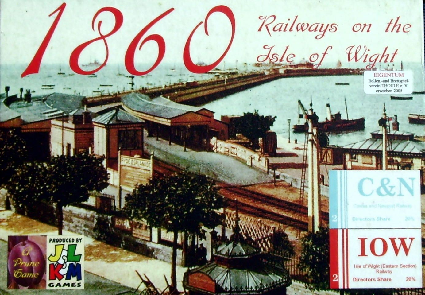 Main image for 1860: Railways on the Isle of Wight board game