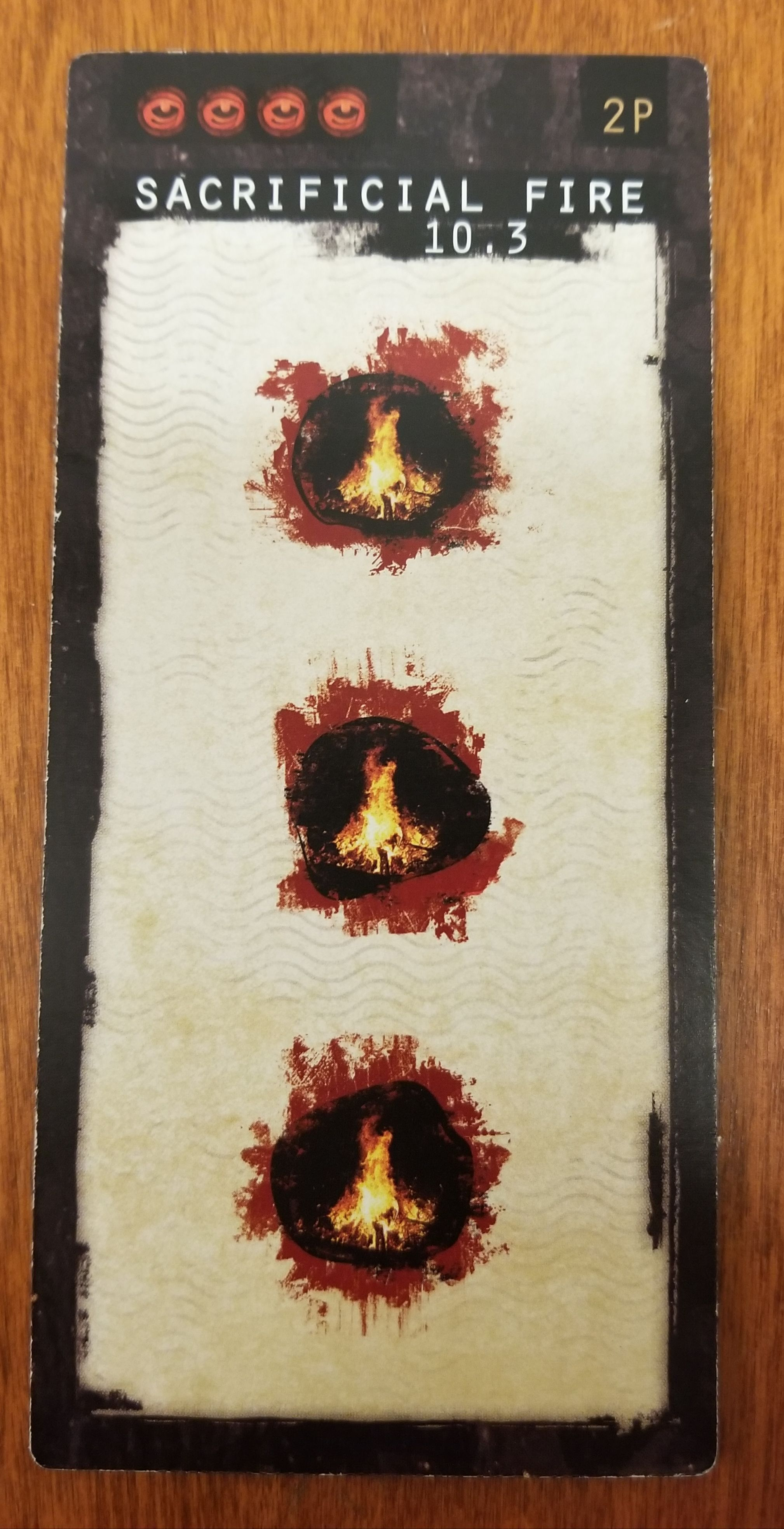 Sacrificial Fire Mini Expansion Promo For The Board Game NEW Gates of Delirium
