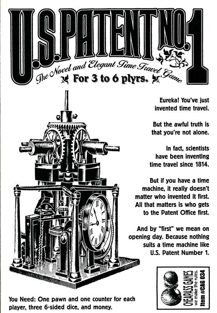 U.S. Patent No. 1