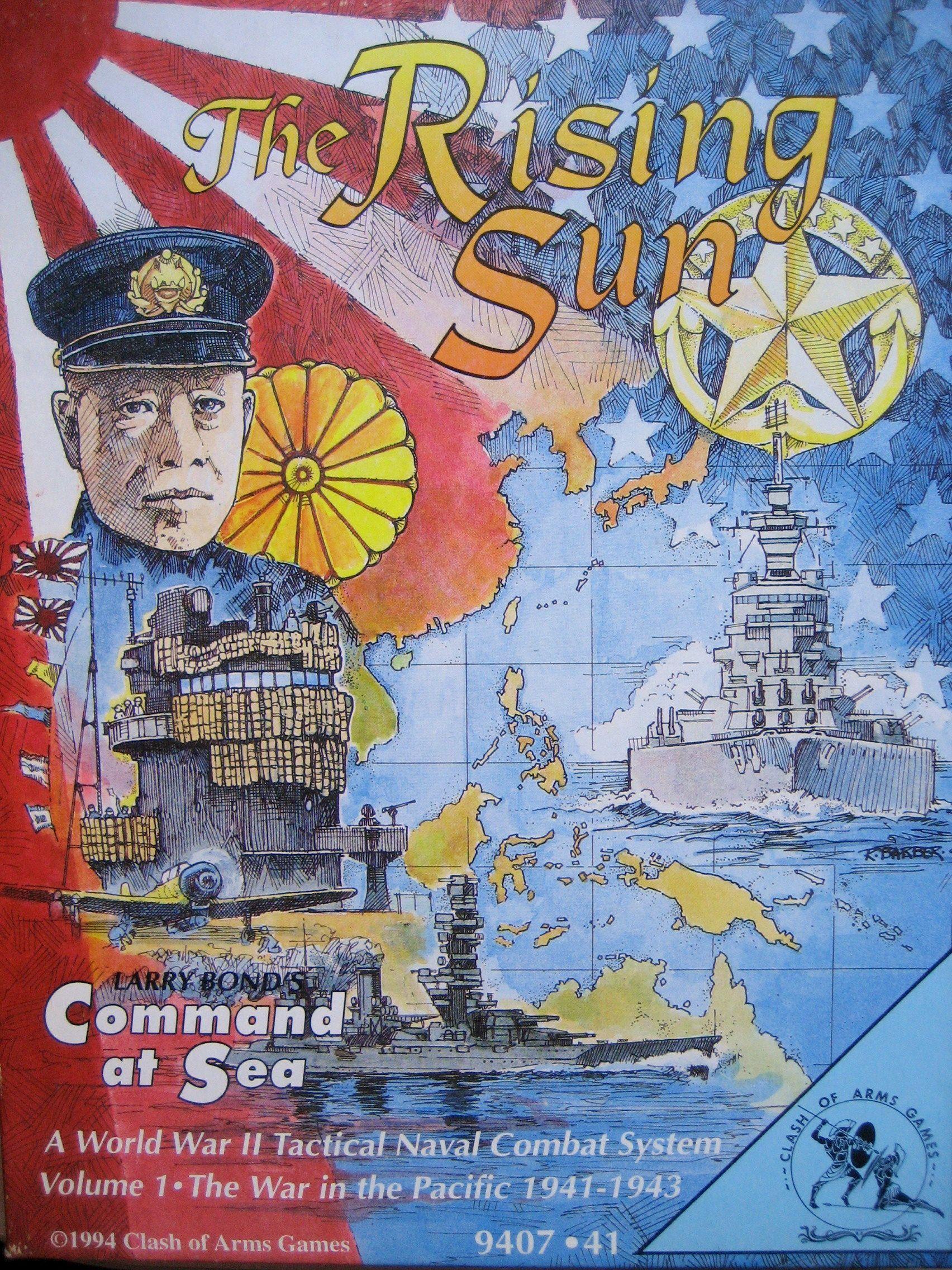 The Rising Sun: Command at Sea Volume I