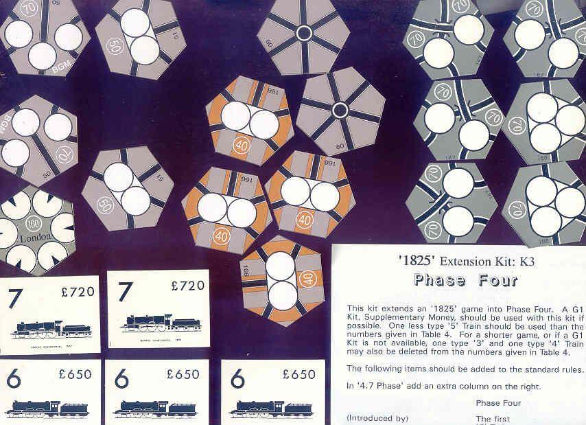 1825 Extension Kit K3: Phase Four