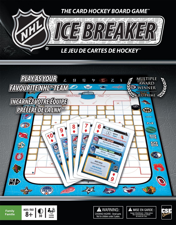 NHL Ice Breaker: The Card Hockey Board Game