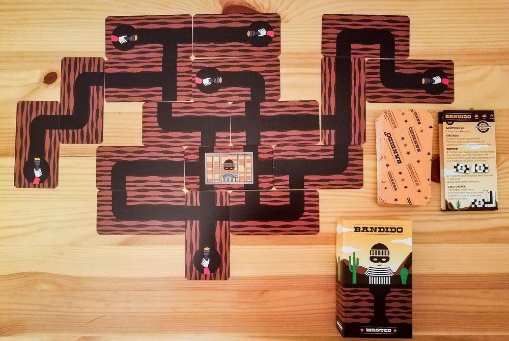 Ronny reviews    Bandido | Bandido | BoardGameGeek