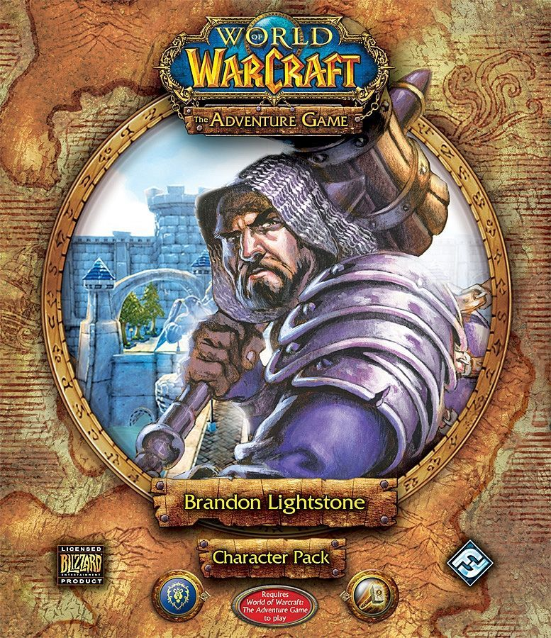 World of Warcraft: The Adventure Game – Brandon Lightstone Character Pack
