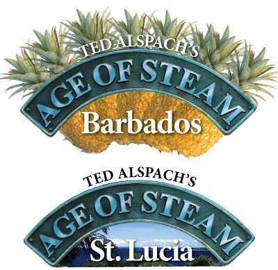 Age of Steam Expansion: Barbados / St. Lucia