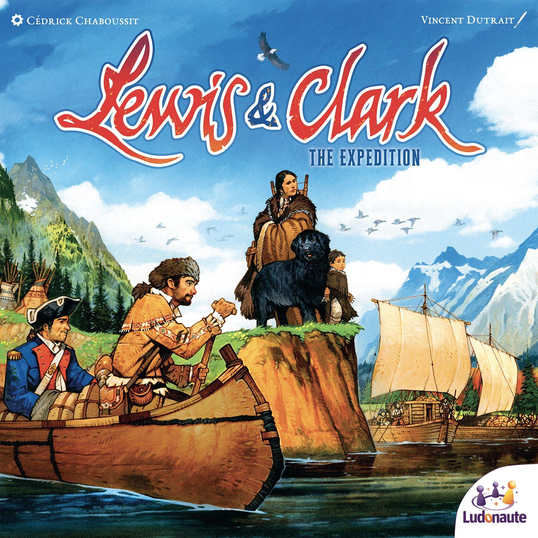 Lewis & Clark Ludonaute - portada